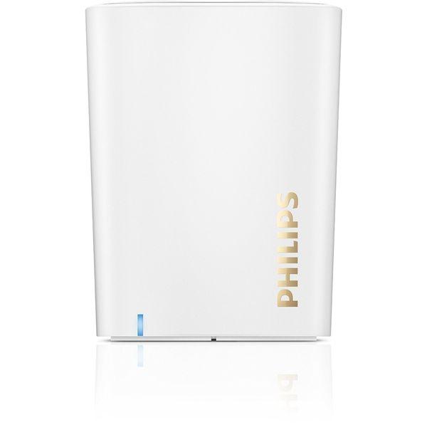 【送料込】PHILIPS BT100W(ホワイト) Bluetooth ワイヤレス・ポータブル・スピーカー【smtb-TK】