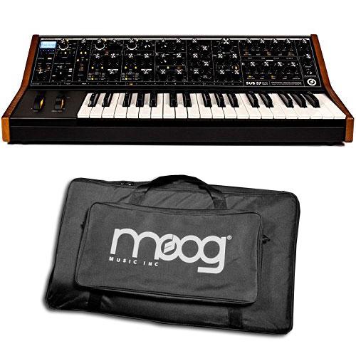 【送料込】【メーカー再生品/アウトレット】【正規輸入品】【純正ギグバッグ付】Moog/モーグ SUB 37 Tribute Edition 2ノート・パラフォニック・アナログ・シンセサイザー限定バージョン【smtb-TK】