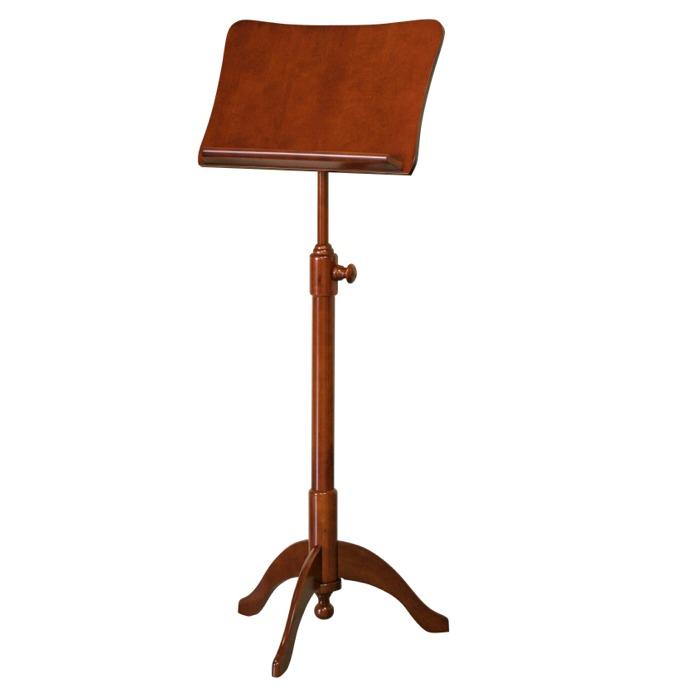 【送料込】KIKUTANI/キクタニ FS-G/BRO(ブラウン) 木製譜面台 高級感のある家具調スタンド【smtb-TK】