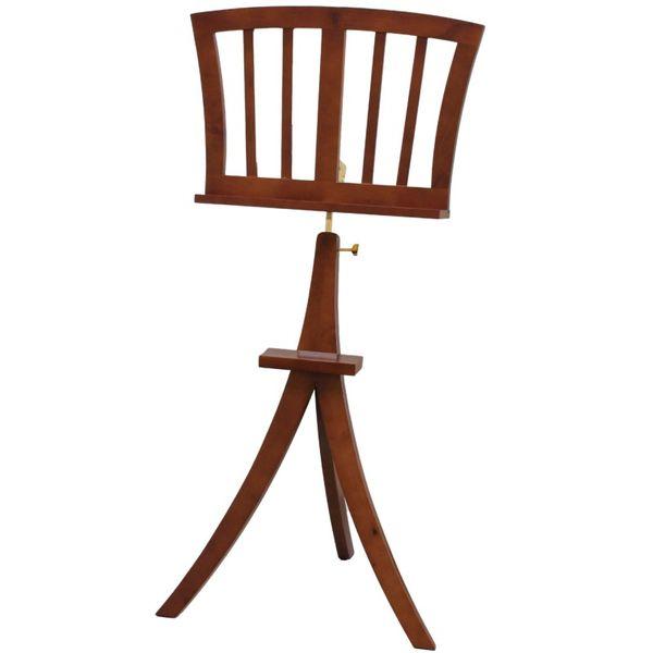 【送料込】KIKUTANI キクタニ FS-JA/BRO(ブラウン) 木製 譜面台 高級感のある家具調 スタンド【smtb-TK】