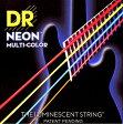 【メール便・送料無料・代引不可】【1セット】DR NMCB-45 [45-105] NEON マルチカラー ベース弦【smtb-TK】