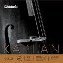 D'Addario KS510 4/4M KAPLAN SET MED チェロ弦 セット