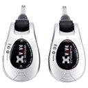 【送料込】Xvive エックスバイブ XV-U2/Silver 2.4GHz デジタルワイヤレス・システム【smtb-TK】