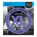 【メール便・送料無料・代引不可】【弦×10セット】ダダリオ D'Addario EXL115BT×10セット エレキギター弦 Medium[11-50]【smtb-TK】