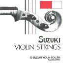 【メール便・送料無料・代引不可】鈴木バイオリン SUZUKI Violin バイオリン弦セット[4/4-3