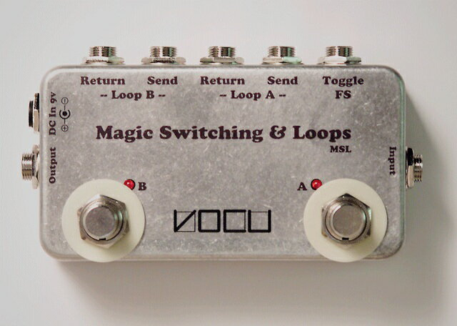 【ポイント2倍】【送料込】VOCU/ヴォーキュ Magic Switching & Loops 2 Loops & Multiple Footswitch System 【smtb-TK】