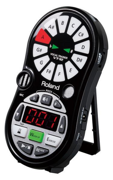 【ポイント10倍】【送料込】Roland/ローランド VT-12-BK Vocal Trainer/ボーカル・トレーナー【smtb-TK】