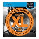 【メール便・送料無料・代引不可】【10セット】D'Addario/ダダリオ EXL110BT Balanced Tension Strings エレキギター弦 Regular Light/..