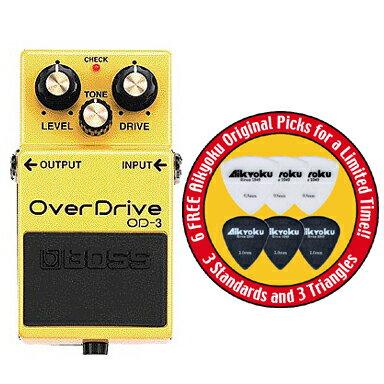 ポイント7倍愛曲楽器オリジナルピック6枚付送料込BOSSOD-3/OverDriveボスコンパクト・