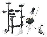 【X''masセール】【送料込】【純正イス+スティック+TAMAペダル+ヘッドホン+接続ケーブル付6点セット】Roland/ローランド TD-4KP-S V-Drums Porta