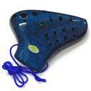 【ポイント2倍】【送料込】TNG Pla03-AC-Blue プラスチック トリプル オカリナ AC ブルー【smtb-TK】