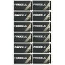 【ポイント2倍】【限定特価】【12個/1箱】DURACELL PROCELL 006P 角型 9V 乾電池