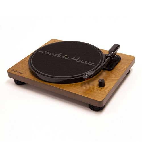 【ポイント10倍】【送料込】Amadana Music UIZZ 18520 SIBRECO レコードプレーヤー ターンテーブル【smtb-TK】
