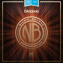 【メール便・送料無料・代引不可】【1セット】D'Addario ダダリオ NB1253 ニッケルブ