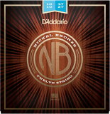 【メール便・送料無料・代引不可】【1セット】D'Addario ダダリオ NB1047-12 12弦アコースティックギター弦【smtb-TK】