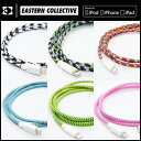 EASTERN COLLECTIVE LIGHTNING USB CABLE コード長:1m ライトニング ケーブル Apple認証 Made for iPhone取得