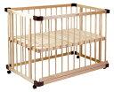 グランドール ファルスカ ベッドサイドベッド03 746050 【120サイズ】 / ベビーベッド プレイペン ベビー用品 赤ちゃん ベットサイドベット
