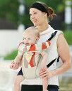 日本エイテックス サンクマニエルプレール ウェーブベージュ/ 01-097 SmanieresPrele 抱っこひも 5way 【新生児〜3歳まで】 前向き抱き 対面抱き おんぶ 寝かせ抱き ピロー付き SG対応品 手洗いできます。 プルール