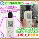 デジタル 騒音計 騒音測定器 騒音計測器 音量測定器 電池付き 騒音測定 音圧測定 音量 測定器 計測器 デジタル測定器 ♪