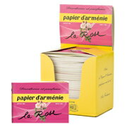 パピエダルメニイ triple-rose aroma paper incense incense-30 pieces
