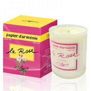 パピエダルメニイ with special scented candles-rose candles candles candles