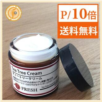 Tea tree oil cream 60 g fresh Inc. ( kolarumoon ) FRESH CORAL MOON fs3gm