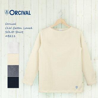 오 시바 루 オーチバル 국경 보트 넥 바스크 셔츠 # B211 ORCIVAL | 여성 | 코 튼 로드 | # B211 | 태양 | オーチバル-fs3gm10P30Nov13