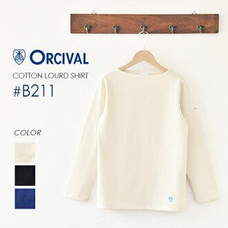 오 시바 루 オーチバル 국경 보트 넥 바스크 셔츠 # B211 ORCIVAL   여성   코 튼 로드   # B211   태양   オーチバル-fs3gm10P30Nov13