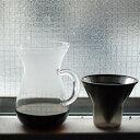 KINTO(キントー) コーヒーカラフェセット 600ml ステンレス (SCS-04-CC-ST) /KINTO/4杯用