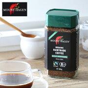 マウントハーゲン オーガニック カフェインレス インスタントコーヒー [MOUNT HAGEN 有機栽培 オーガニック コーヒー デカフェ(カフェインレスコーヒー) ディカフェ カフェインフリー 珈琲 coffee 妊婦 授乳]