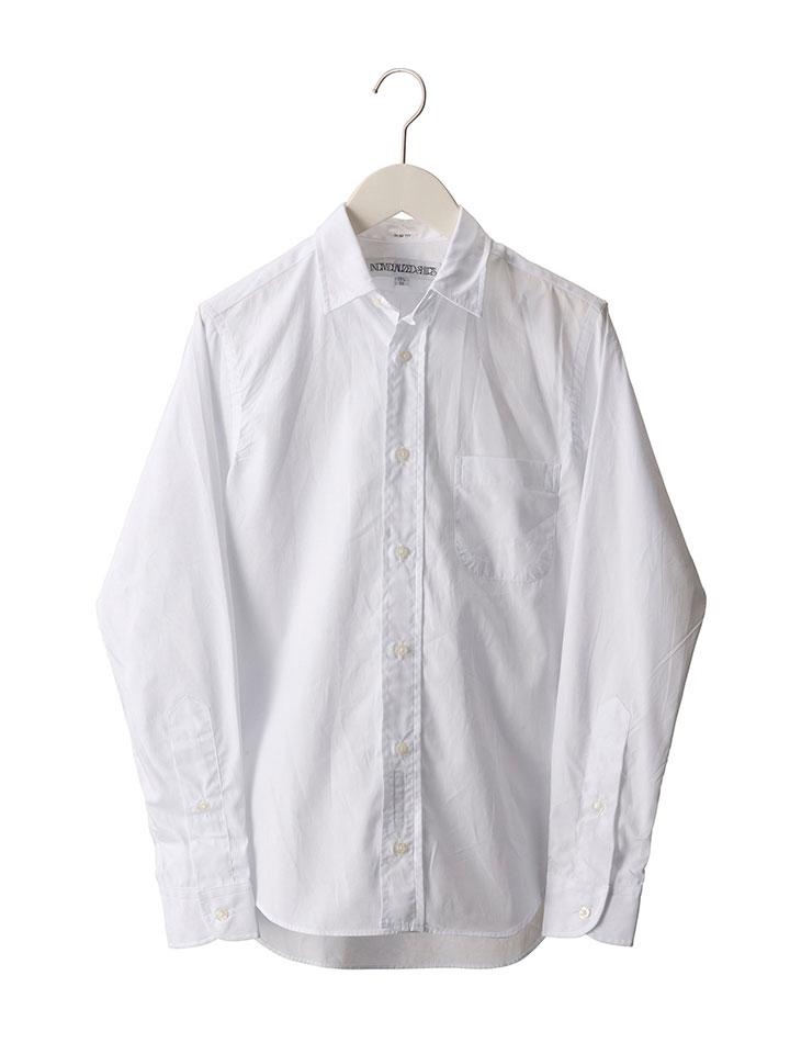 【レディース】 INDIVIDUALIZED SHIRTS (インディビジュアライズド シャツ) / Jan Shirt (Poplin) / ポプリンレギュラーカラーシャツ アメリカを代表する高級シャツテーラー!