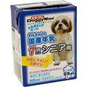 ドギーマン わんちゃんの国産牛乳 7歳からのシニア用 200...