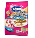 日本ペットフード コンボ キャット 毛玉対応 まぐろ味 ささみチップ かつお節添え 700g