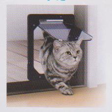 エーワンPD1923犬猫出入り口(網戸用)猫用