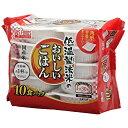 アイリスフーズ 低温製法米のおいしいごはん 国産米100 角型 150g×10パック