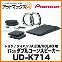 UD-K714パイオニア Pioneer インナーバッフル ホンダ/三菱/日産用