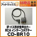CD-BR10 パイオニア Pioneer カロッツェリア carrozzeria IPバス形状音声出力・RCAインターコネクター (50cm)【ゆうパケット不可】