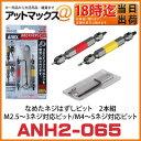 ANH2-065 ANEX アネックス 兼古製作所 なめたネジはずしビット 2本組 M2.5〜3ネジ対応ビット/M4〜5ネジ対応ビット - アットマックス@