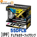 【IPF】【55DFLB】LEDデュアルカラーフォグランプバ...