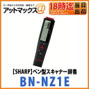 【SHARP シャープ】【BN-NZ1E 英和モデル】ペン型スキャナー辞書 ナゾルわからない言葉をなぞるだけ!