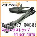 【ロックストラップ】 ROK straps ストレッチストラップ(2本入 310MM〜1060MM) フォリッジグリーン 小型オートバイ用 ロープ ひも ス..