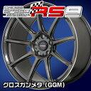 ホットスタッフ クロススピード ハイパーエディション RS9 17x7.0J 50 100-5穴 グロスガンメタ(GGM)