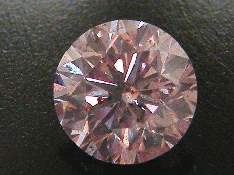 【アーガイル産】1.160ct FANCY.PURPLISH.PINK,I1,ラウンド ピンクダイヤモンド ルース