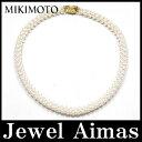 【MIKIMOTO】ミキモト パール 真珠 ベビーパール ネックレス 3.5-4.0mm ネックレス K18YG【中古】