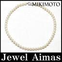 【MIKIMOTO】ミキモト パール 真珠 7mm-7.5mm ネックレス シルバー【中古】