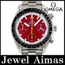 【OMEGA】オメガ スピードマスター 3510.61 1st シューマッハモデル レッド 文字盤 SS ステンレス メンズ 自動巻き【中古】【腕時計】