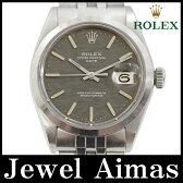 【ROLEX】ロレックス オイスターパーペチュアル デイト アンティーク 1500 29番 1969年頃製 グレー モザイク 文字盤 SS ステンレス 巻き込みブレス メンズ 自動巻き【中古】【腕時計】