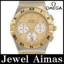 【OMEGA】オメガ コンステレーション クロノグラフ 1242 デイト ゴールド 文字盤 YG イエローゴールド SS ステンレス コンビ メンズ クォーツ 1242.1