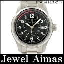 【HAMILTON】ハミルトン カーキフィールド KHAKI デイト H705950 ブラック 文字盤 SS ステンレス メンズ 自動巻き【中古】【腕時計】