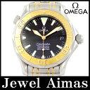 【OMEGA】オメガ シーマスター プロフェッショナル プロダイバーズ 2453.50 300m防水 デイト ブラック 文字盤 YG イエローゴールド SS ステンレス コンビ メンズ 自動巻き